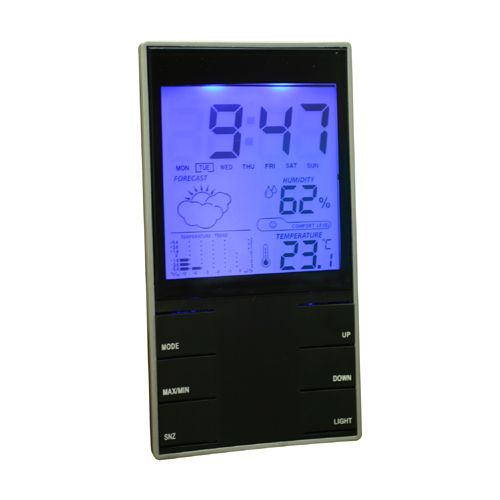 Indoor Digital Thermometer And Hygrometer Lcd Weather